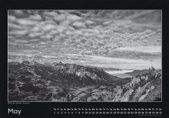 Blackmountainswhite Kalender 2014 - Mai