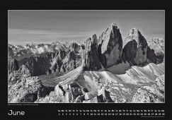 Blackmountainswhite Kalender 2014 - Juni