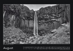 Blackmountainswhite Kalender 2014 - August