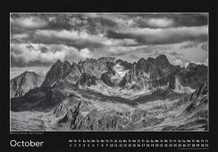 Blackmountainswhite Kalender 2014 - Oktober