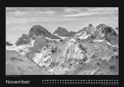 Blackmountainswhite Kalender 2014 - November
