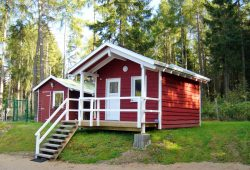 Campingplatz Harz-Camping - Skandinavische Huetten