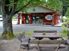 Campingplatz Harz-Camping - Rezeption mit Sitzecke