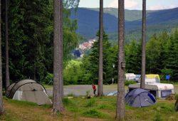 Campingplatz Harz-Camping - Blick nach Schierke