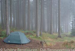 Campingplatz Harz-Camping - Zelt im Wald