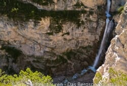 Cortina d Ampezzo - Cascata de Fanes im Fanestal