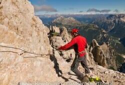 Cortina d Ampezzo - Sanierung des Klettersteiges / Via Ferrata Marino Bianchi