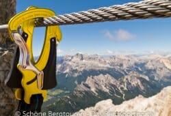 Cortina d Ampezzo - Blick vom Grat des des Cristallo di Mezzo
