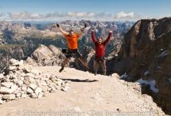 Cortina d Ampezzo - Gipfel des Cristallo di Mezzo
