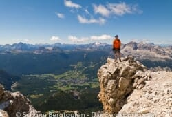 Cortina d Ampezzo - Beim Abstieg vom Cristallo di Mezzo