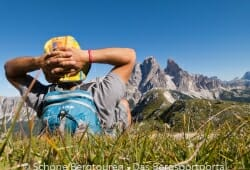 Cortina d Ampezzo - Herrliche Sicht auf Cristallo di Mezzo