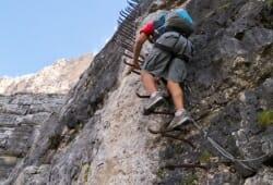 Cortina d Ampezzo - Klettersteig Scala del Minighel