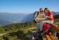Das Alpenhaus Gasteinertal - Pause beim Wandern