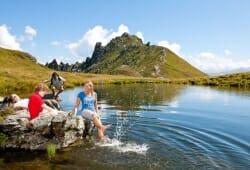 Das Alpenhaus Gasteinertal - Spass im Bergsee
