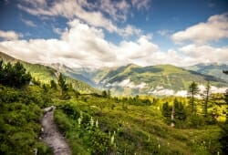 Das Alpenhaus Gasteinertal - Blick ins Tal
