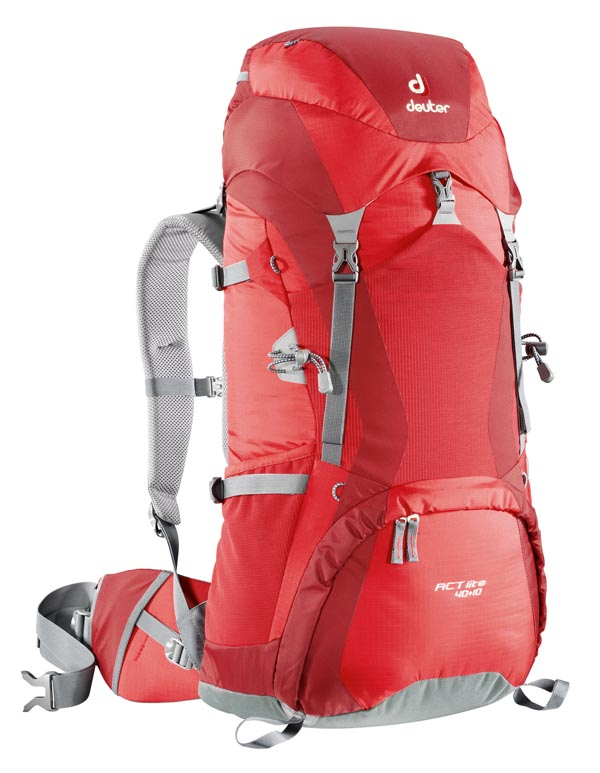 Deuter ACT Lite 40 + 10 - Fire Cranberry