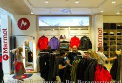 Der Marmot Shop in Shop