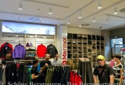 Der Marmot Shop in Shop