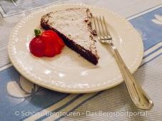 Warmer Schokoladenkuchen