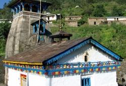 Garwhal Himalaya - Tempel in Trijuginarayan