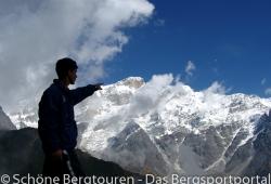 Garwhal Himalaya - Blick zum Kedarnath Dome