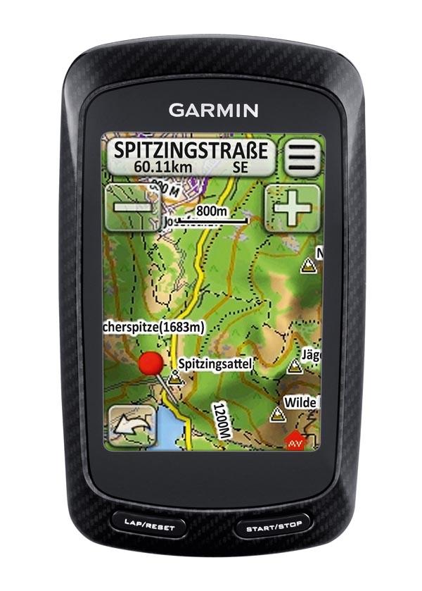 Garmin - Edge 800 mit Topo Deutschland 2010
