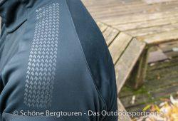 Haix Pro Jacket Windstopper - Antirutschstruktur