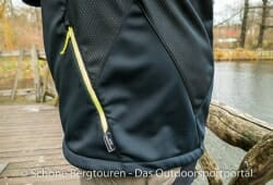 Haix Pro Jacket Windstopper - RV-Seitentasche