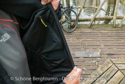 Haix Pro Jacket Windstopper - Brustinnentasche
