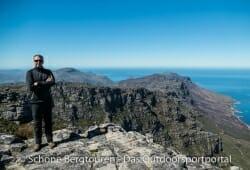 Haix Pro Jacket Windstopper - Oberhalb von Kapstadt