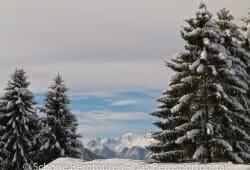 Haute-Savoie - Herrliche Aussicht im Skigebiet La Clusaz