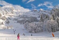 Haute-Savoie - An der Talstation Les Chenons