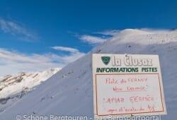 Haute-Savoie - Lawinenwarnstufe 4