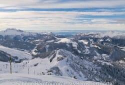 Haute-Savoie - Blick zur Berghuette Crete du Loup