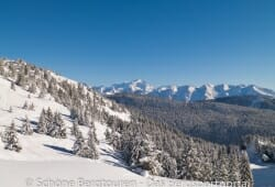 Haute-Savoie - Wunderschoener Blick zur Araviskette
