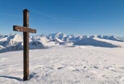 Haute-Savoie - Das Gipfelkreuz des Sous-Dîie