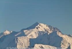Haute-Savoie - Der Mont Blanc vom Gipfel des Sous-Dine