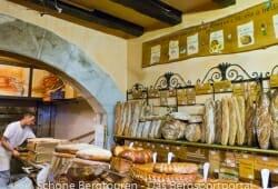 Haute-Savoie - in der Boulangerie Artisanale Marmillon in Annecy