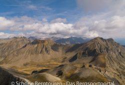 Hautes-Alpes - Aussicht vom Gipfel des Le Piolit