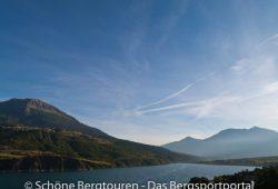 Hautes-Alpes - Blick auf den Lac de Serre-Poncon