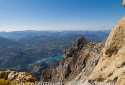 Hautes-Alpes - Aussicht etwas unterhalb des Pic de Morgon