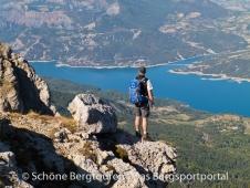 Hautes-Alpes - Aussicht vom Pic de Morgon