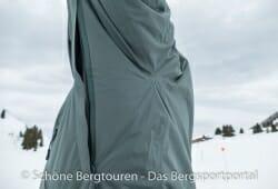 Helly Hansen Backbowl Jacket - Belueftungsoeffnung