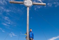 Hochpustertal / Sextener Dolomiten / Pragser Dolomiten - Gipfelkreuz des Duerrenstein
