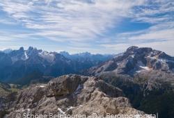 Hochpustertal / Sextener Dolomiten / Pragser Dolomiten - Blick vom Duerrenstein