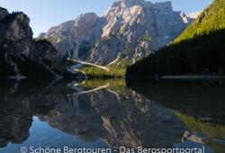 Hochpustertal / Sextener Dolomiten / Pragser Dolomiten - Pragser Wildsee