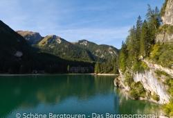 Hochpustertal / Sextener Dolomiten / Pragser Dolomiten - Der Pragser Wildsee