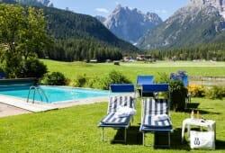 Hotel Drei Zinnen - Freischwimmbad