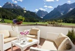 Hotel Drei Zinnen - Terrasse