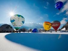 Gaestehaus Rottenspacher - Ballooning im Winter
